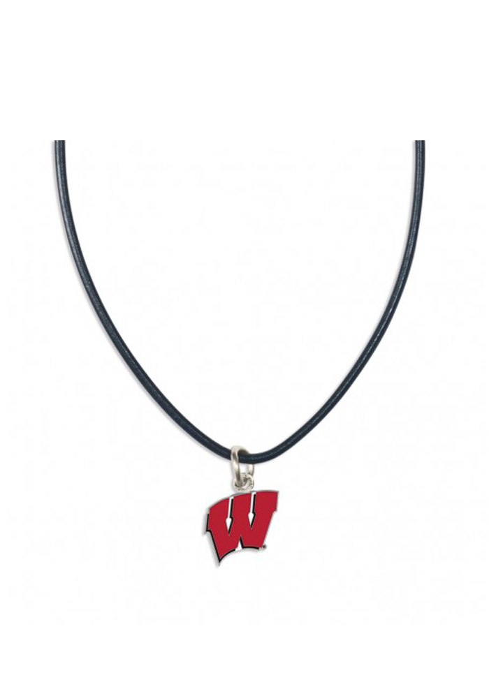 Wisconsin Badgers Team Logo Womens Necklace - Image 1
