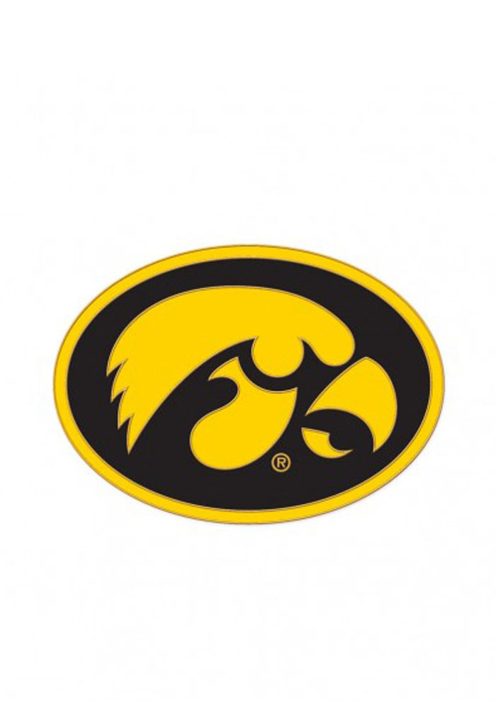 Iowa Hawkeyes Souvenir Team Logo Pin - Image 1