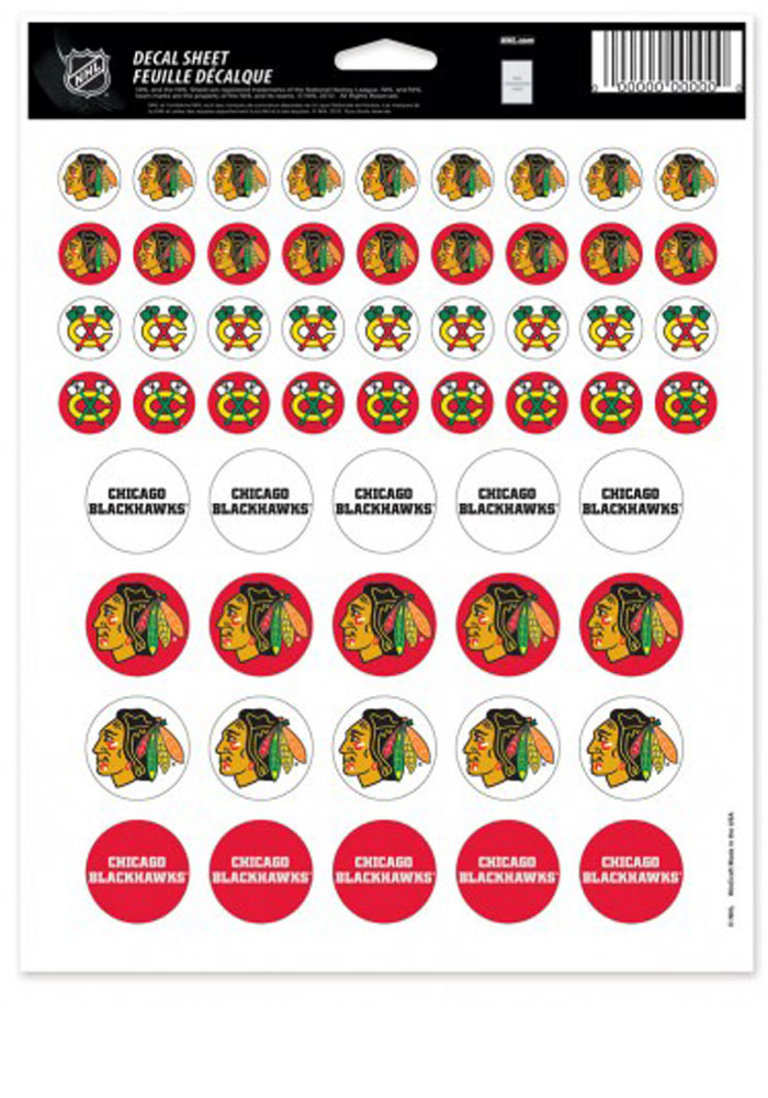 Chicago Blackhawks Team Logos Stickers - Image 1