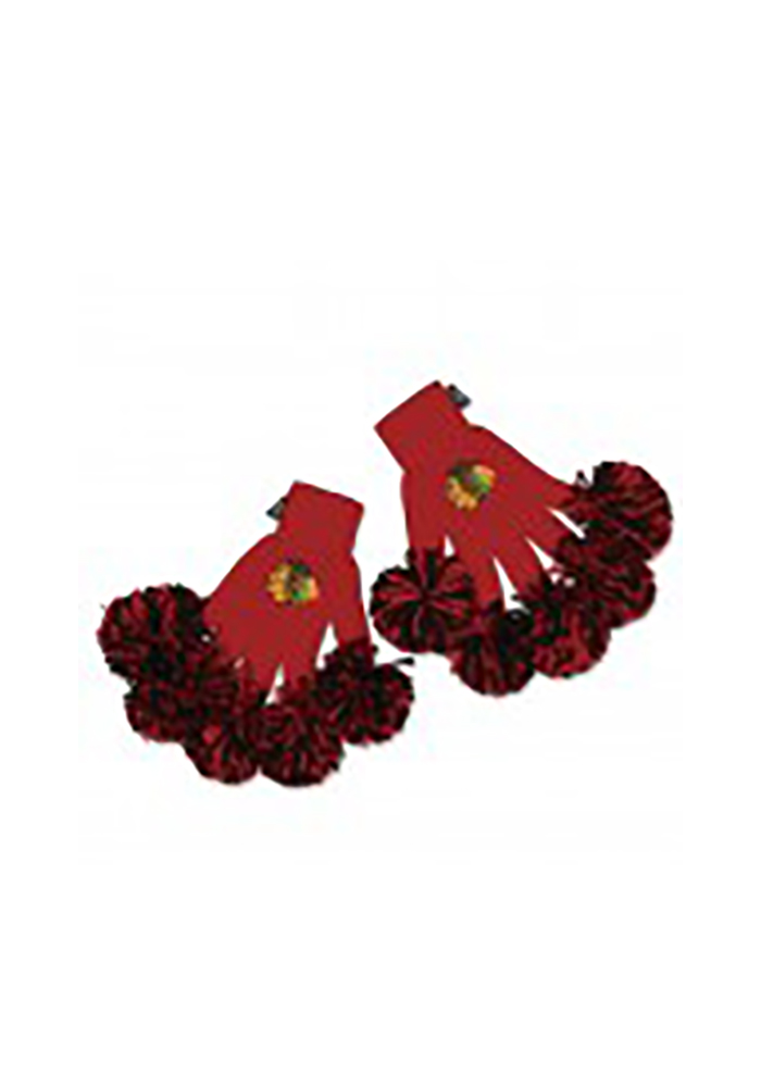 Chicago Blackhawks Spirit Fingerz Womens Gloves - Image 1