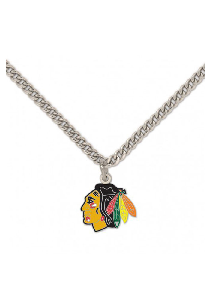 Chicago Blackhawks Team Logo Necklace - Image 1