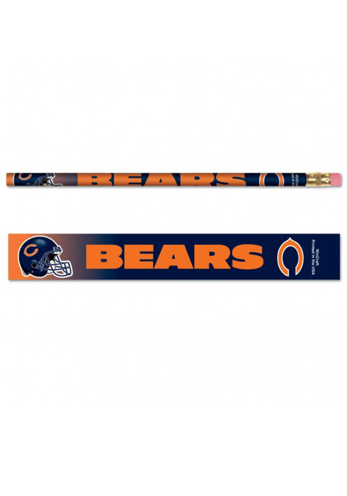 Chicago Bears 6 Pack Pencil - Image 1