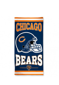 Chicago Bears Team Logo Beach Towel