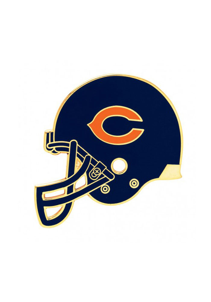 Chicago Bears Helmet Pin