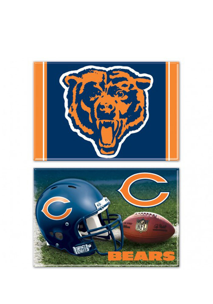 Chicago Bears 2 pack Magnet - Image 1