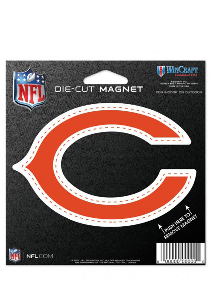 Chicago Bears Team Logo Magnet - Image 1