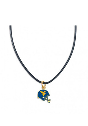 West Virginia Mountaineers Heart Charm Necklace