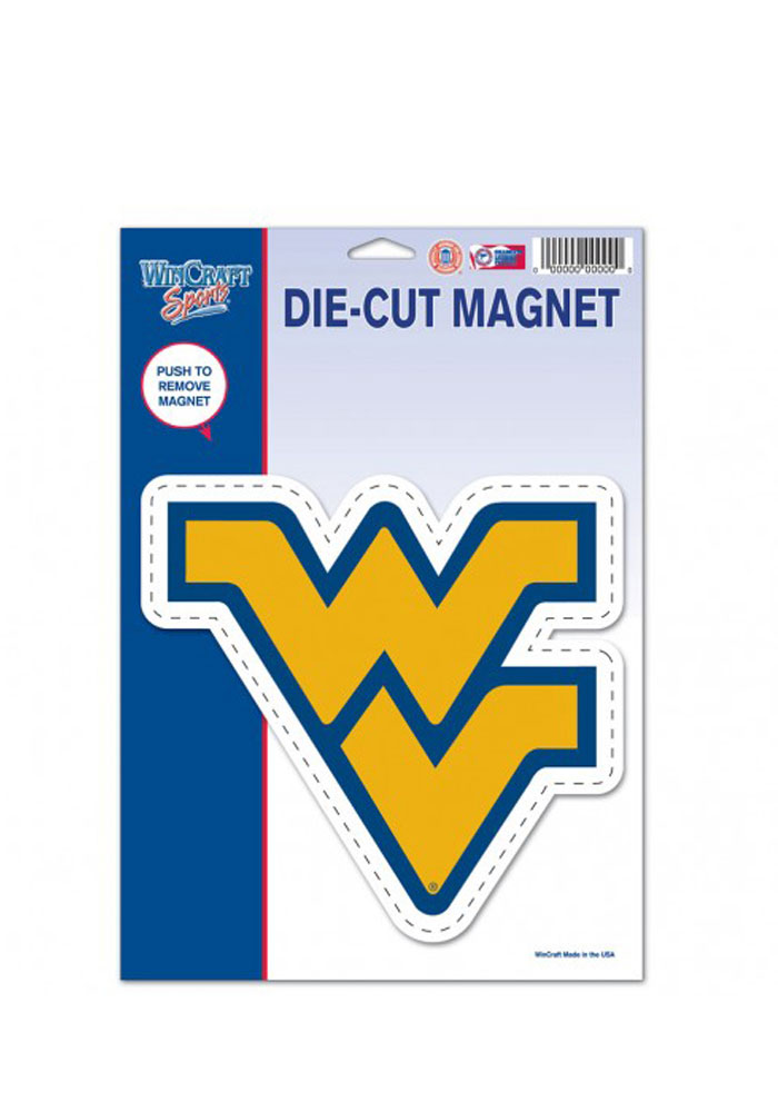 West Virginia Mountaineers Team Logo Magnet - Image 1