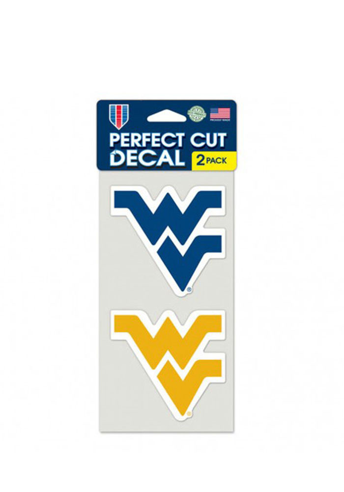 West Virginia Mountaineers 2 Pack Decal - Image 1