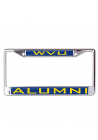 West Virginia Mountaineers Alumni Inlaid License Frame