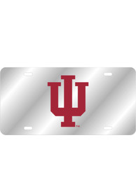 Indiana Hoosiers Team Logo Inlaid Car Accessory License Plate