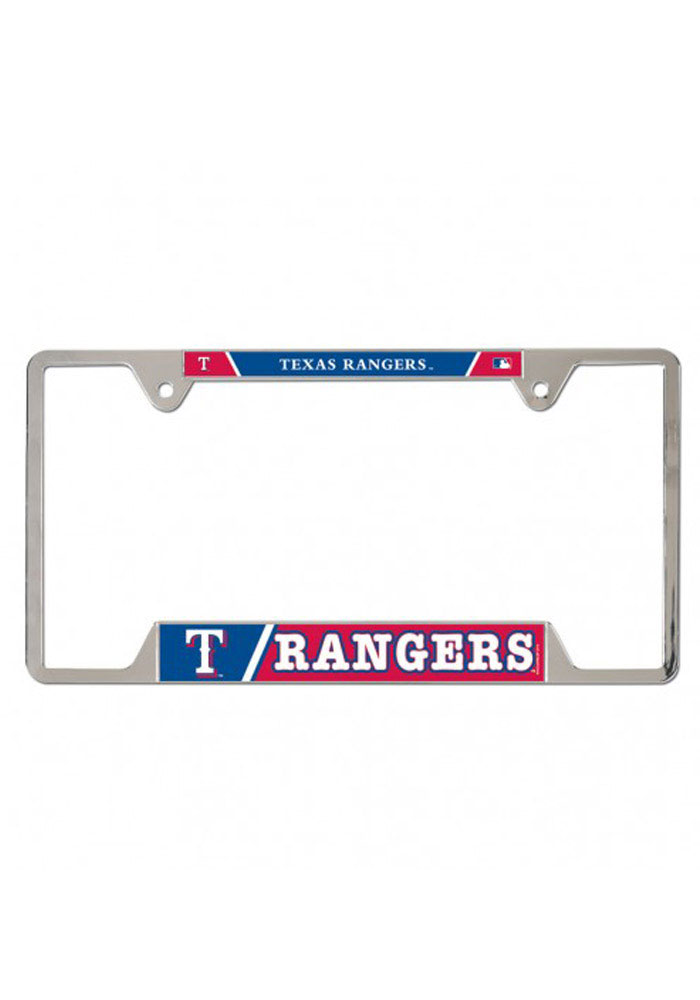 Texas Rangers Metal License Frame - Image 1