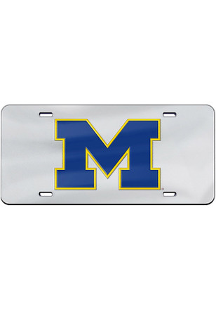 Michigan Wolverines Team Logo Inlaid Car Accessory License Plate