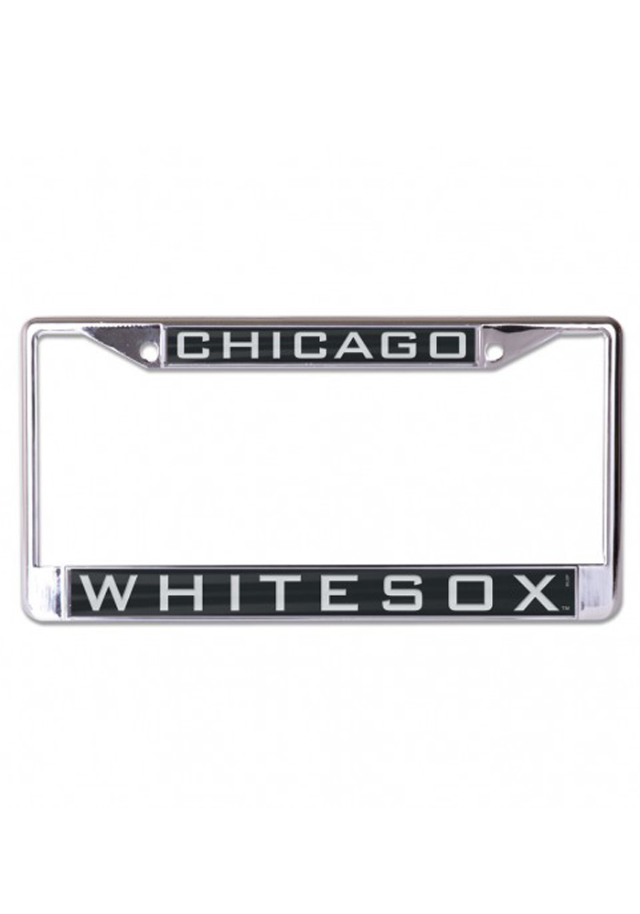 Chicago White Sox Team Name Inlaid License Frame - Image 1