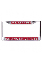 Indiana Hoosiers Alumni Inlaid Car Accessory License Frame