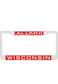 Wisconsin Badgers Alumni Inlaid License Frame