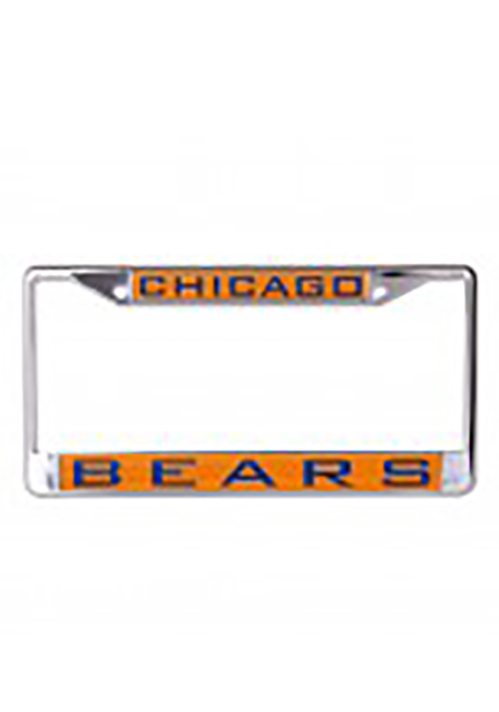 Chicago Bears Team Name Inlaid License Frame - Image 1