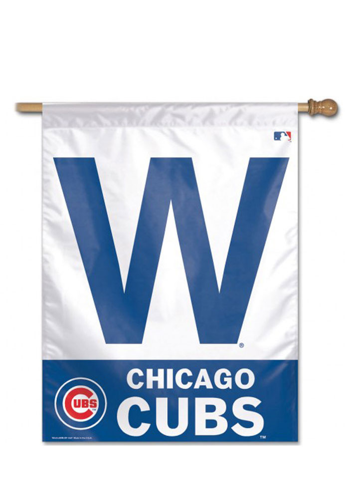 Chicago Cubs W Logo Banner - Image 1