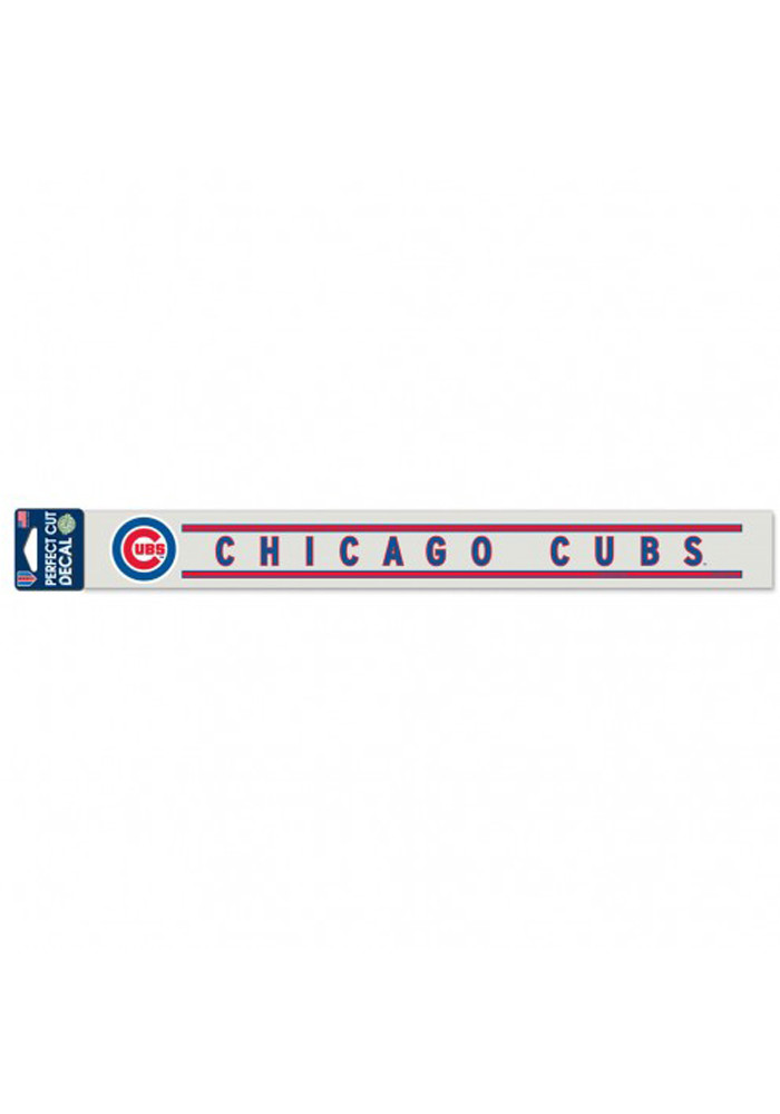 Chicago Cubs Perfect Cut Auto Auto Strip - Image 1