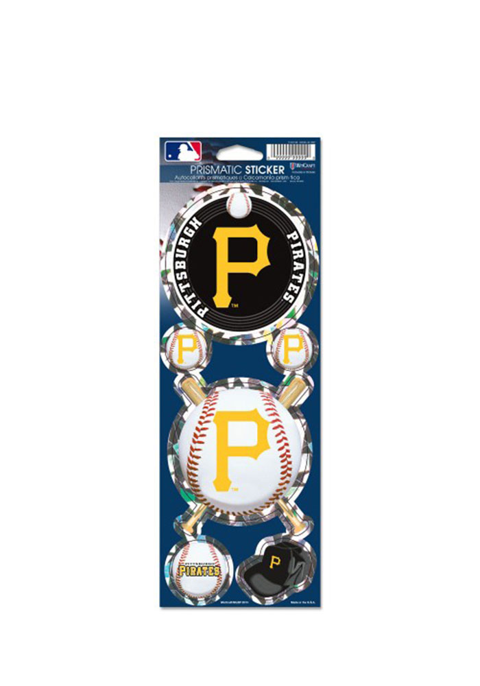 Pittsburgh Pirates Prismatic Stickers - Image 1