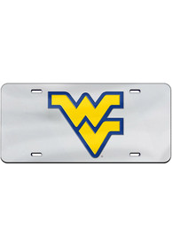 West Virginia Mountaineers Team Logo Inlaid Car Accessory License Plate