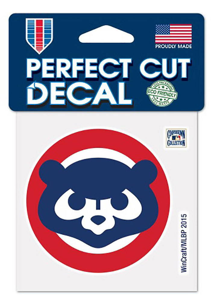 Chicago Cubs 1984 Coopertown Decal - Image 1