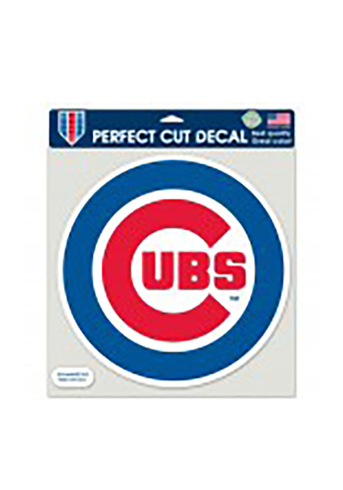 Chicago Cubs Perfect Cut Decal - Image 1