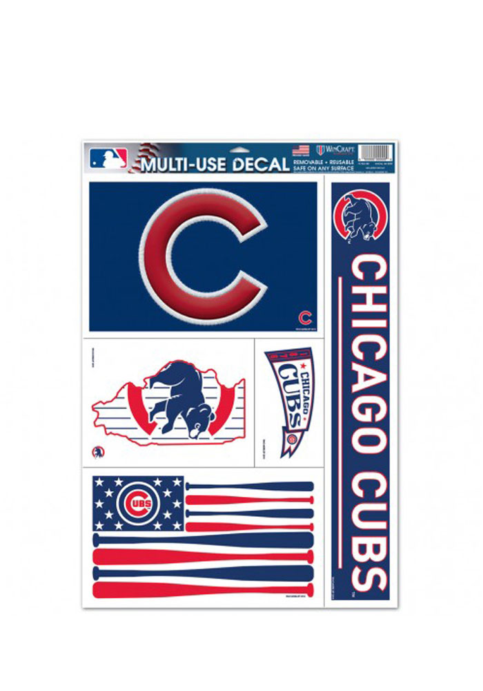 Chicago Cubs Multi Use Decal - Image 1