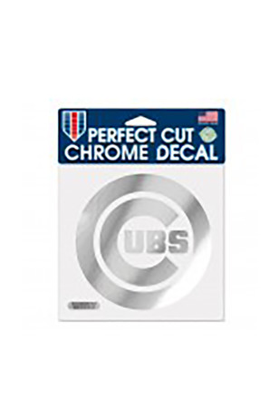 Chicago Cubs Chrome Decal