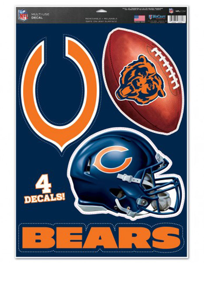 Chicago Bears Multi Use Decal - Image 1