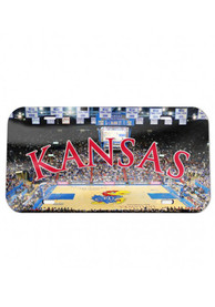 Kansas Jayhawks Allen Fieldhouse Crystal Car Accessory License Plate