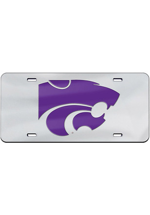 K-State Wildcats Team Logo Car Accessory License Plate