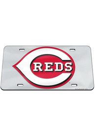 Cincinnati Reds Team Logo Inlaid Car Accessory License Plate