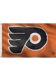 Philadelphia Flyers 3x5 Orange Grommet Orange Silk Screen Grommet Flag
