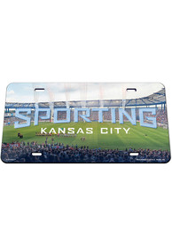 Sporting Kansas City Childrens Mercy Park Car Accessory License Plate