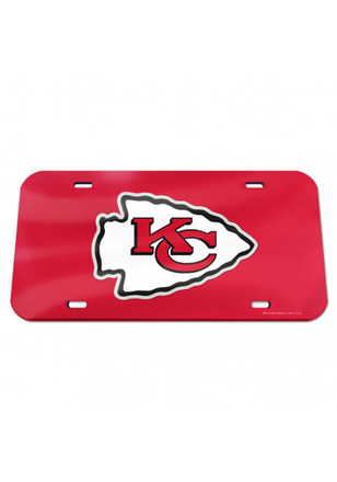 Kansas City Chiefs Team Logo Car Accessory License Plate