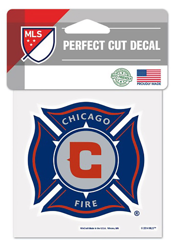 Chicago Fire Team Logo Decal - Image 1