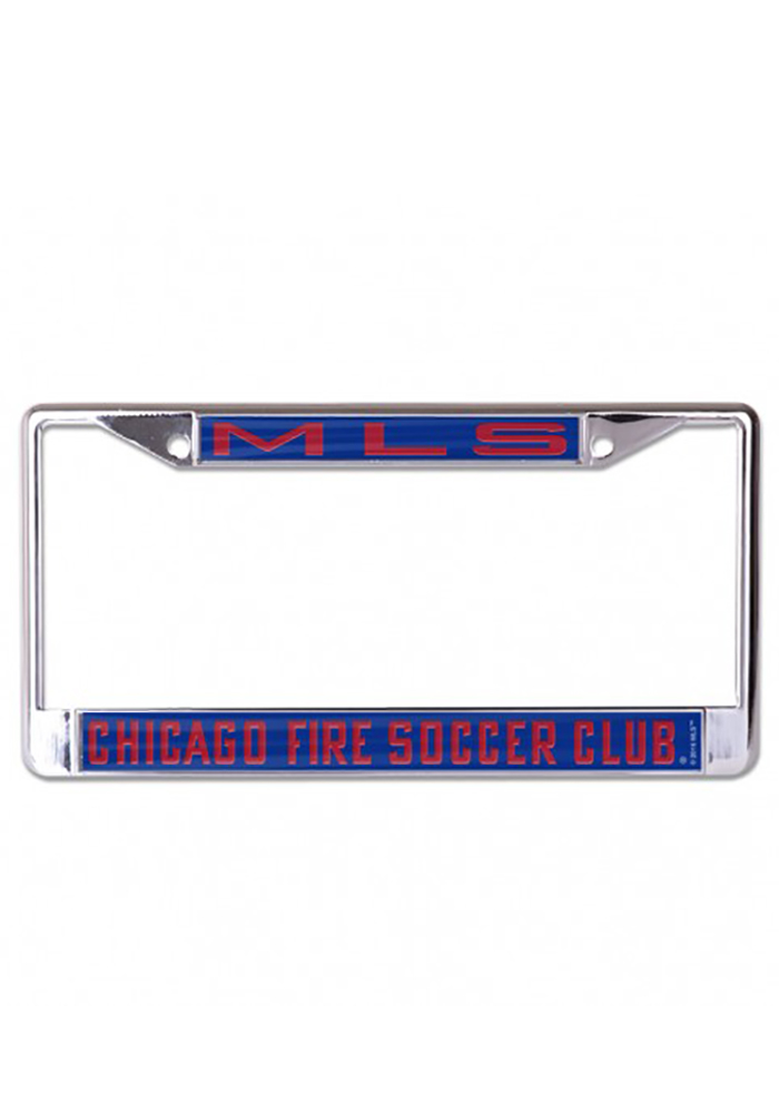Chicago Fire Team Name Inlaid License Frame - Image 1