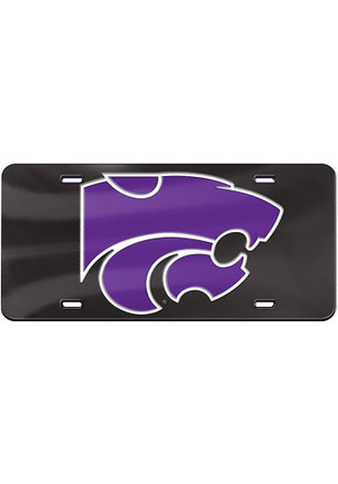 K-State Wildcats Powercat Car Accessory License Plate