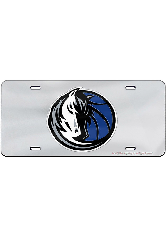 Dallas Mavericks Team Logo Inlaid Car Accessory License Plate - Image 1