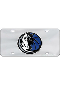 Dallas Mavericks Team Logo Inlaid Car Accessory License Plate