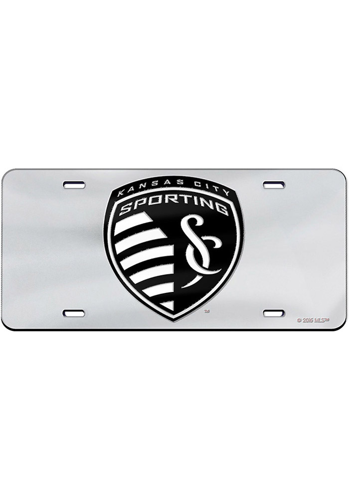 Sporting Kansas City Team Logo Car Accessory License Plate - Image 1