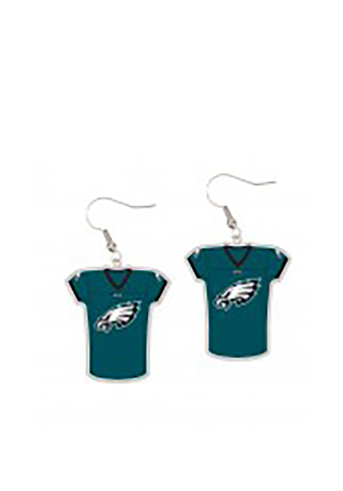 Philadelphia Eagles Jersey Womens Earrings - Image 1