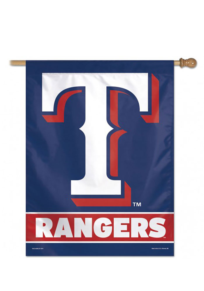 Texas Rangers Team Name Banner - Image 1