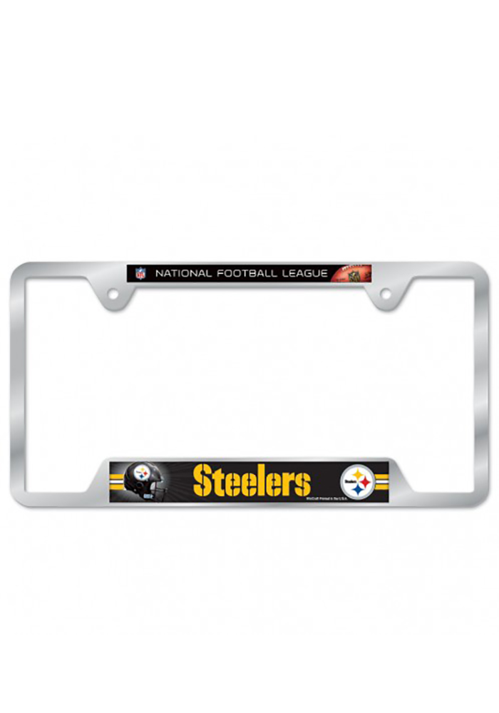 Pittsburgh Steelers Team Name License Frame - Image 1