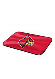 Louisville Cardinals Red Crystal Mirror Car Accessory License Plate