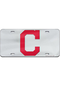 Cleveland Indians Team Logo Inlaid Car Accessory License Plate