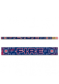 Chicago Fire 6 Pack Pencil