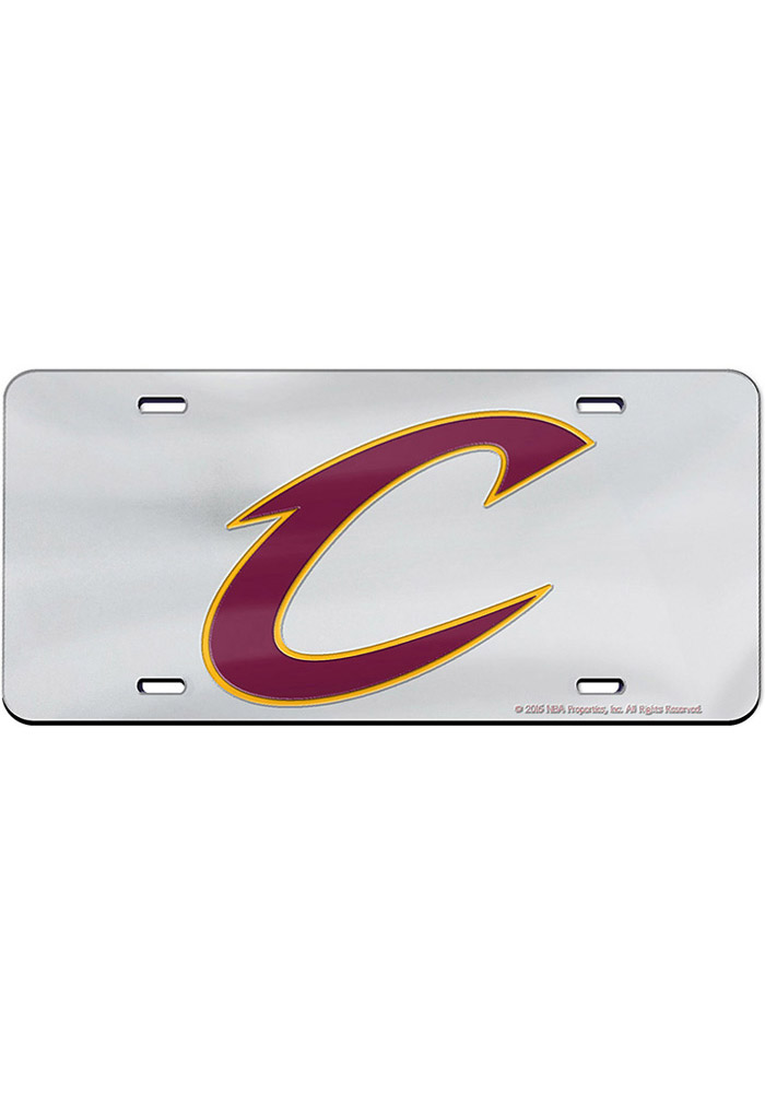 Cleveland Cavaliers Team Logo Inlaid Car Accessory License Plate - Image 2