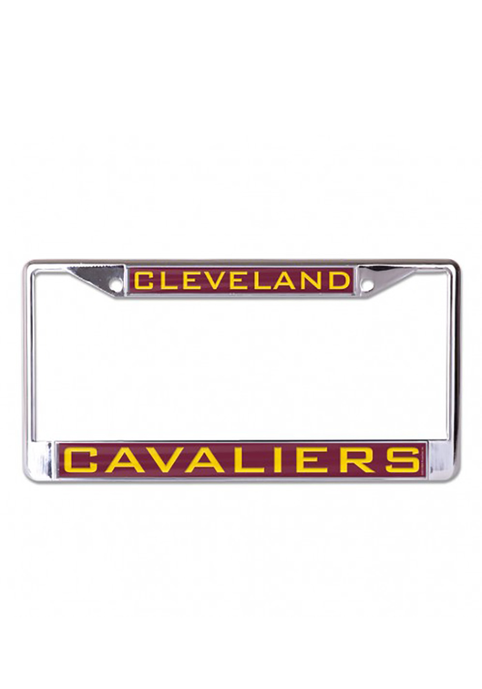 Cleveland Cavaliers Team Name Inlaid License Frame - Image 1